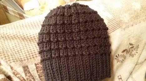 Cappello per donna grigio topo