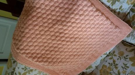 Copertina colore rosa salmone