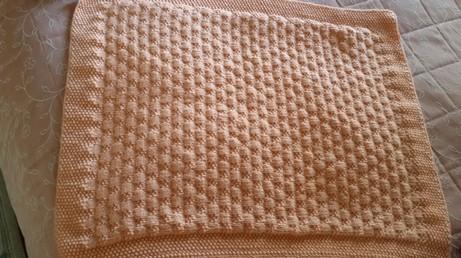 copertina in lana finita per bambino