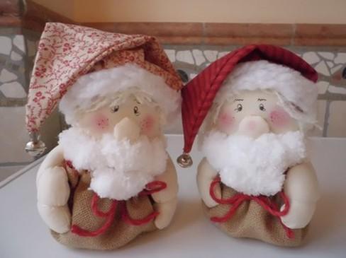 I babetti di Natale nel sacco