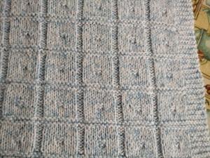 copertina di cotone a quadrotti