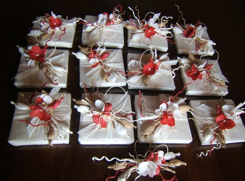 Bomboniere di…fiori di carta…