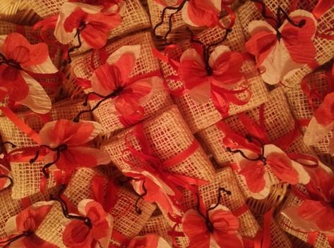 Bomboniere con farfalle di pirkka