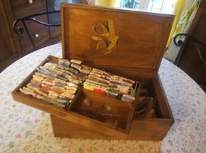 La scatola ….dei bottoni e il porta cucito