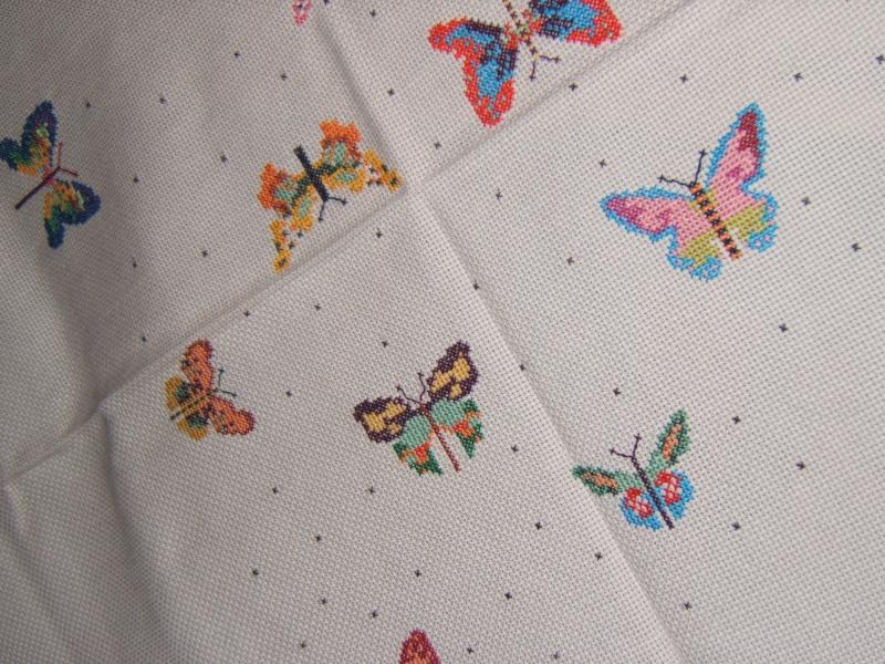 La tovaglia di farfalle