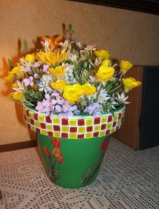 Il vaso, i vassoi e la brocca…