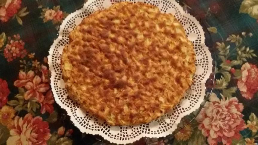 Torta di mele senza glutine e senza latticini