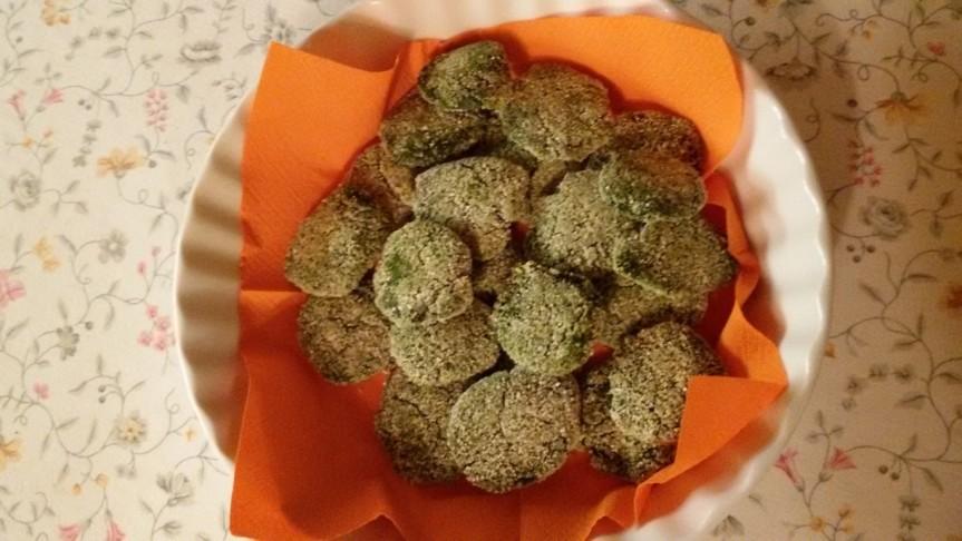 Polpettine vegane di ceci e spinaci