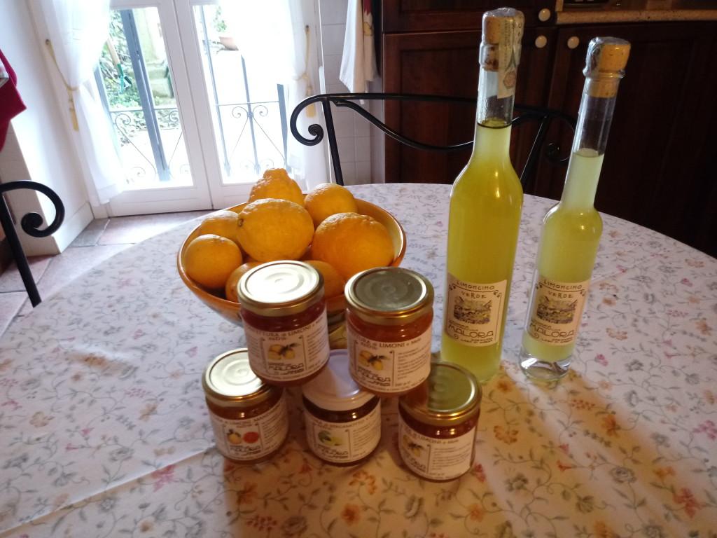 prodotti limonaia malora gargnano
