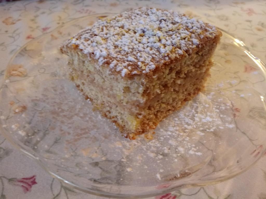 fetta torta farcita limone